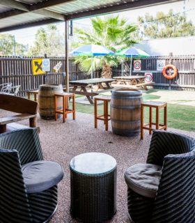 Beer Garden stools