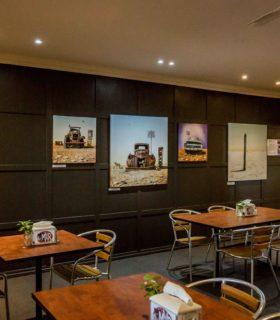 Restaurant Art wide